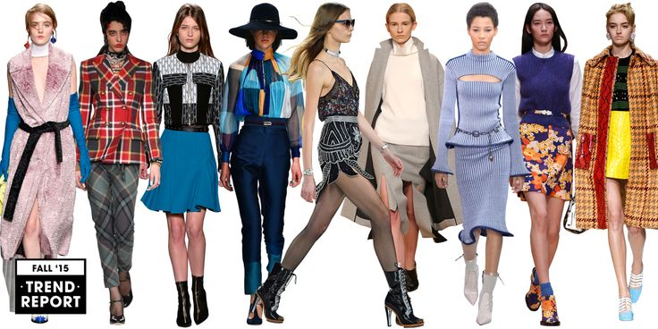 Kiss summer goodbye, and say hello to fall! Stay stylish and check out this year's fall 2015 trends.