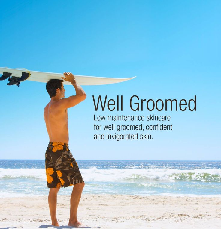 Our Men's skin care range is all about easy maintenance for well-groomed, youthful skin.
