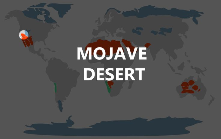 Mojave Desert Map. Great read on the mojave! So unique compared to other desert regions #desert #mojave
