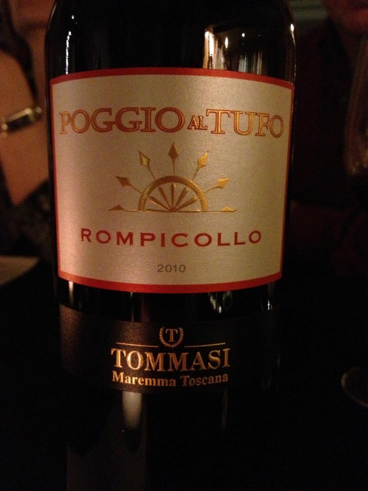Poggio al Tufo Rompicollo Tommasi Maremma Toscana