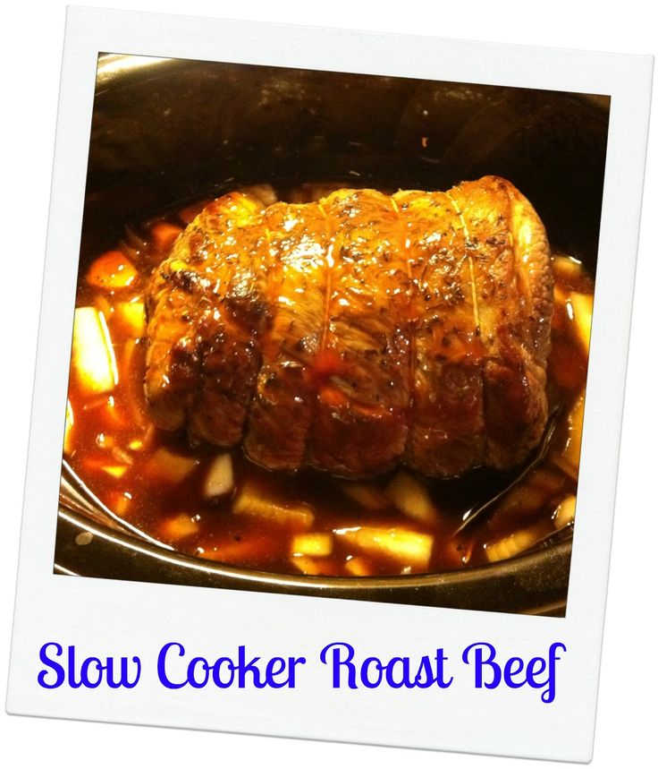 Mummy Mishaps: Slow Cooker Roast Beef