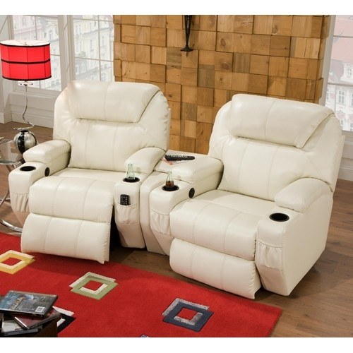 Starfire two seat reclining theater seating with contemporary style by southern motion theater - What is contemporary style ...