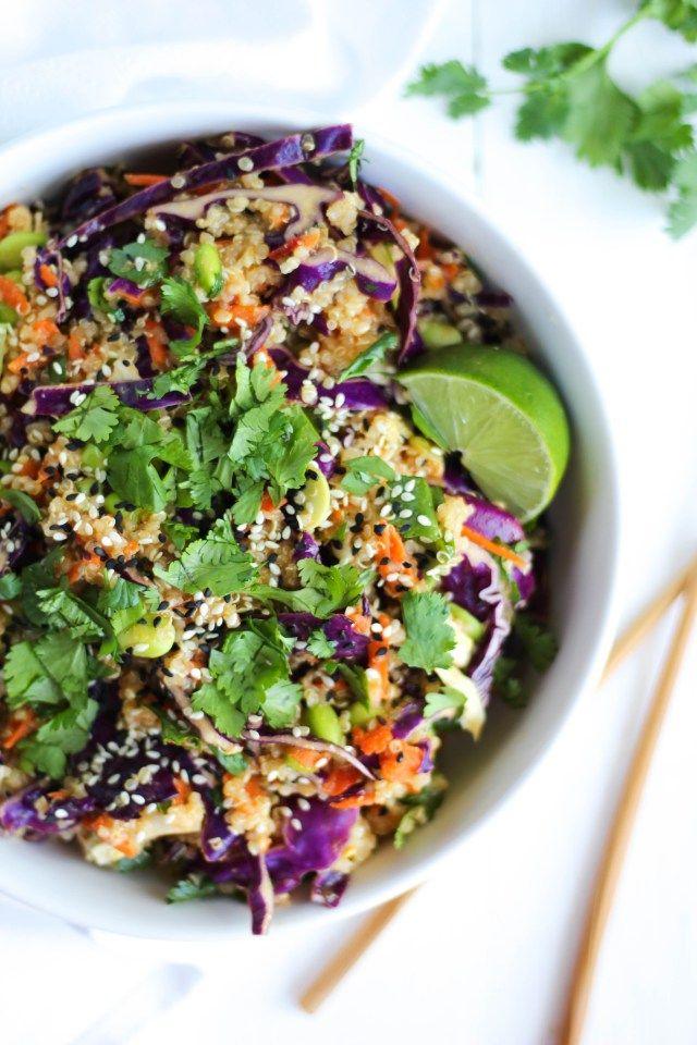 1000+ ideas about Asian Quinoa Salad on Pinterest | Quinoa ...