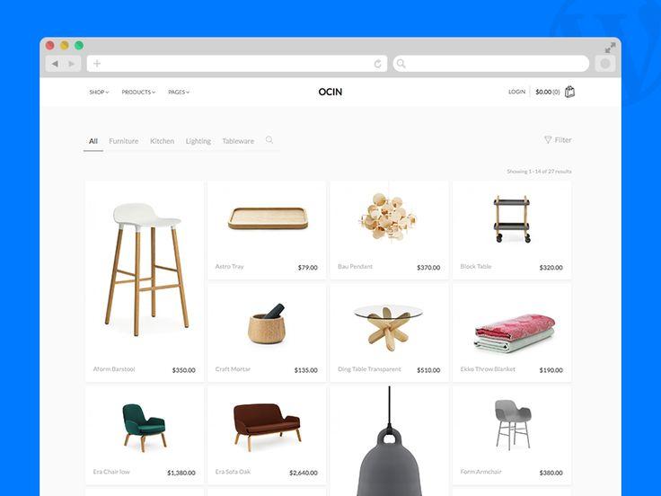 Ocin - WordPress & WooCommerce theme