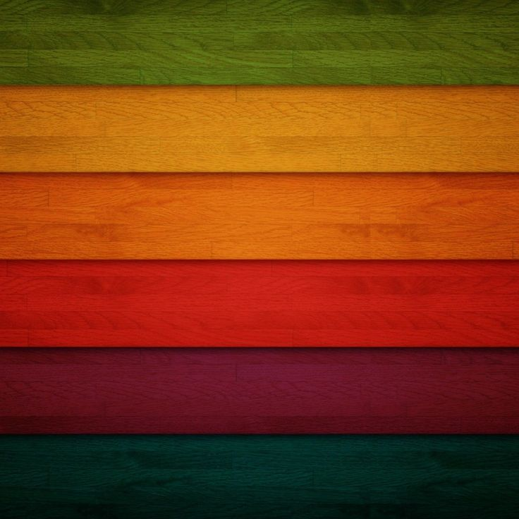 Colorful Wooden Strips iPad Wallpaper HD