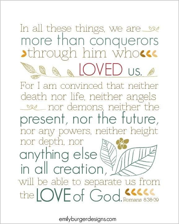 Love Finds You Quote: 25+ Best Ideas About Romans 8 38 39 On Pinterest