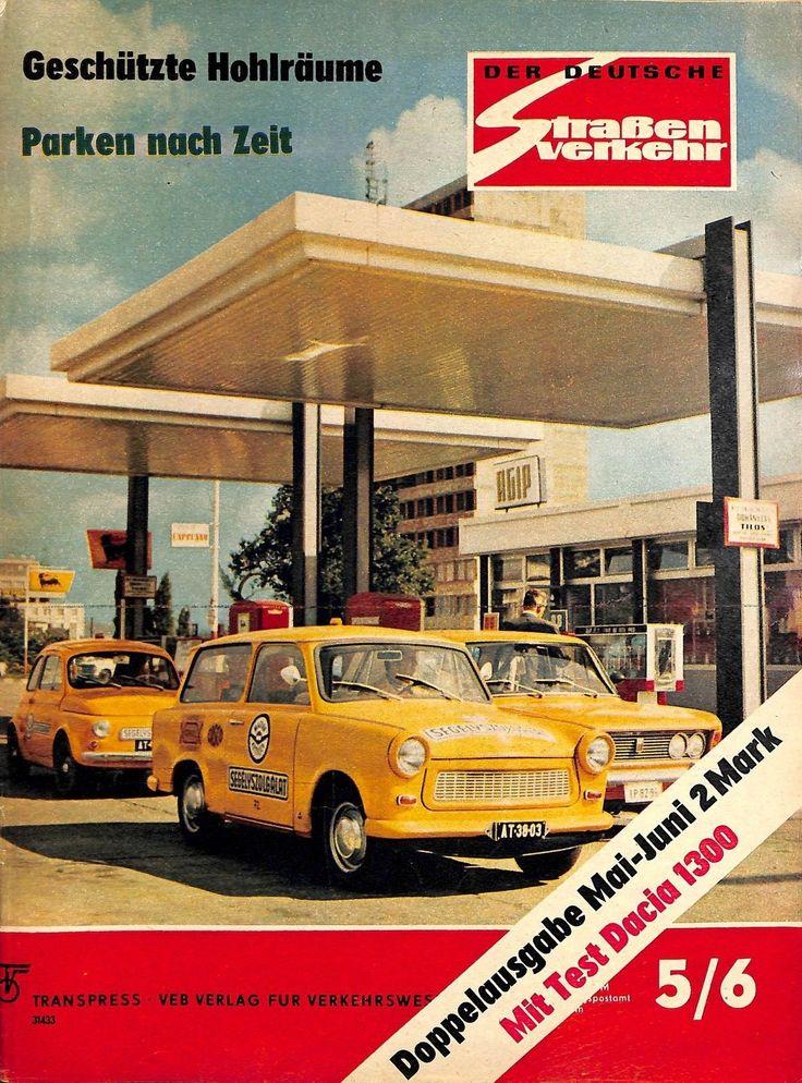 DDR 127 NR 5 6 1973 DER Deutsche Straßenverkehr Magazin Verkehr Fahrzeuge M | eBay