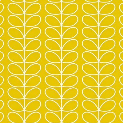 Orla Kiely | UK | House | Wallpaper | Linear Stem Wallpaper (0WALLST501) | Mimosa