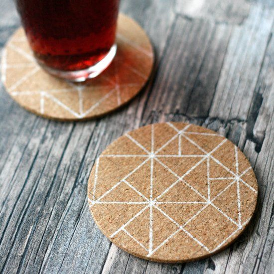Let me show you to upgrade your IKEA Avskild Cork Coasters in just 5 minutes and for less than $3