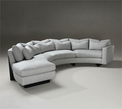 Clip Sectional (Curved) by Thayer Coggin on HomePortfolio