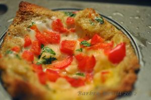 Quiche Cups recipe using The Laughing Cow Light Queso Fresco & Chipotle