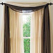 Living Room-Bay window treatment