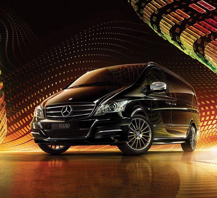 Mercedes-Benz #Viano AVANTGARDE #mbhess #mbviano