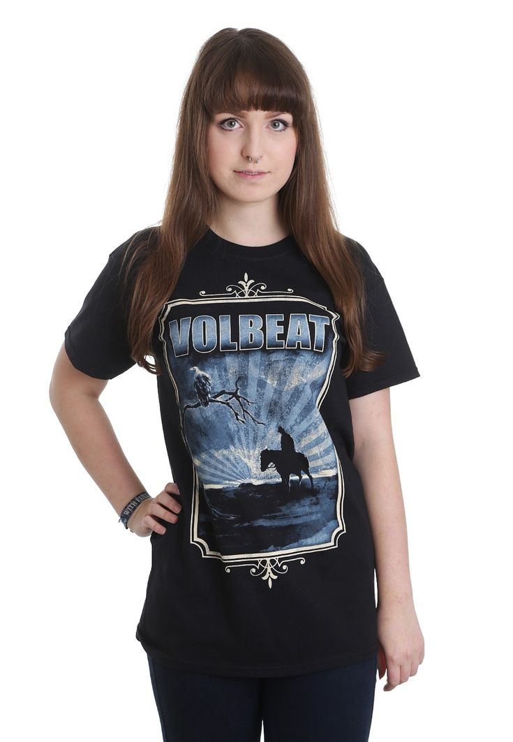 Volbeat - To The Horizon - T-Shirt - Girls - Official Rock Merchandise Online Shop - Impericon Nederland