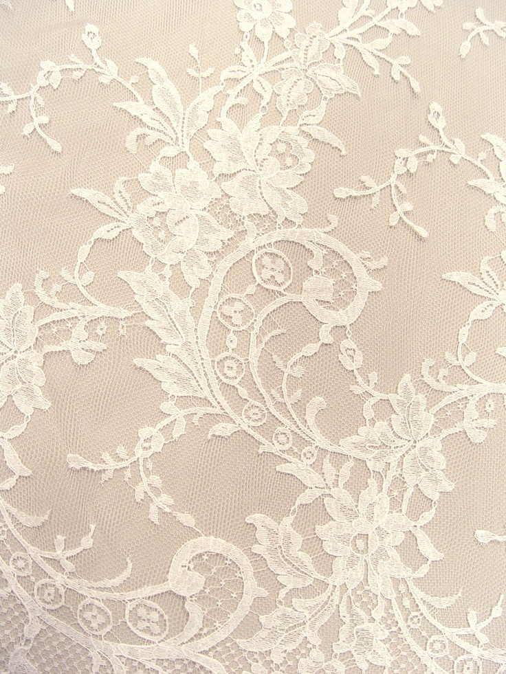 Bigger lace patterns can be used envelopes, papers