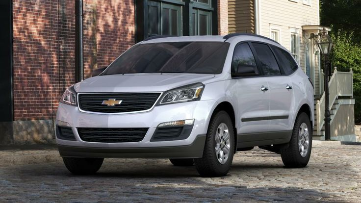 2014 Chevy Traverse. A candidate for my new ride. Love the color to