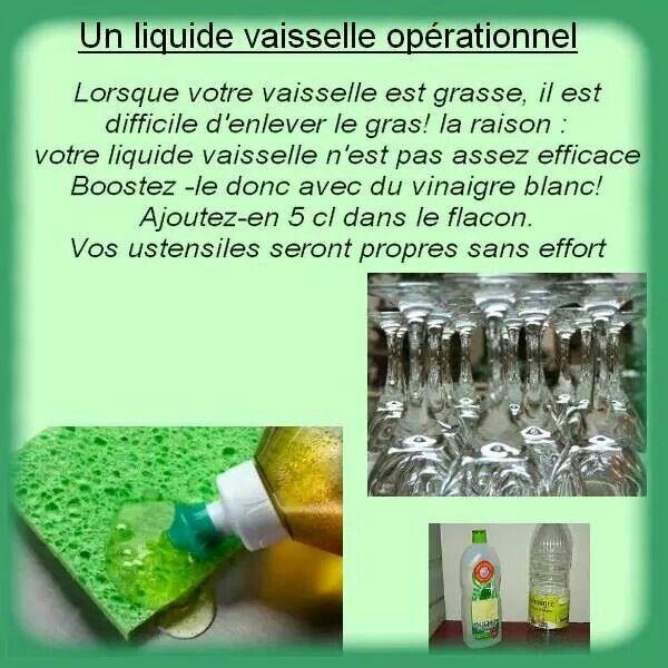 Un liquide vaisselle opérationnel... ...