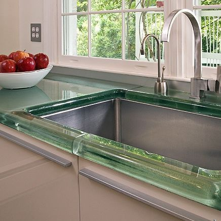 Glass countertop / for kitchens THICKGLASS™  Aag-glass