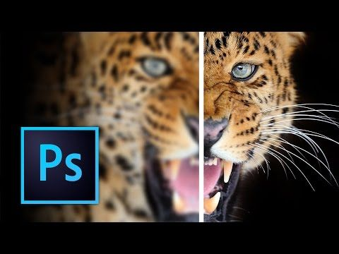 How to Sharpen Images Using High Pass Filter on Photoshop CC - YouTube