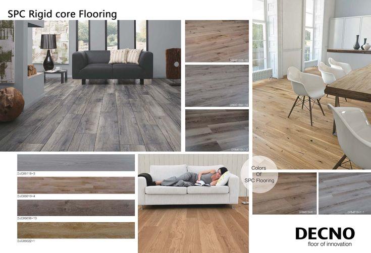 Rigid Core Spc Flooring Flooring Vinyl Flooring Waterproof Flooring