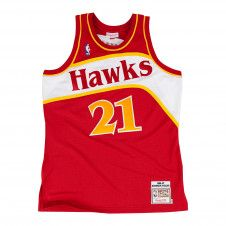 Dominique Wilkins 1986-87 Authentic Jersey Atlanta Hawks