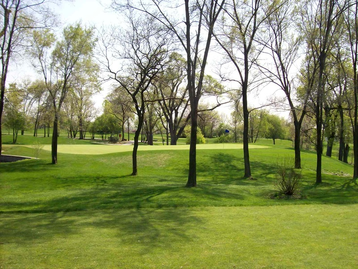 Flagg Creek Golf Course in Countryside, IL.