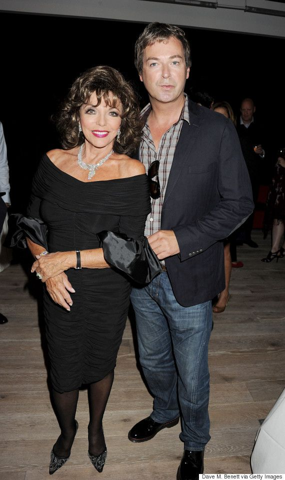 Julian Clary Reveals He Once Saved Joan Collins From Drowning
