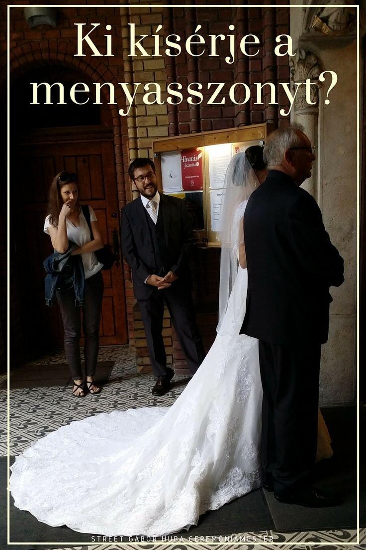 Ki kísérje a menyasszonyt az oltárhoz? / Wedding aisle