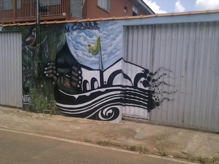 Arte das Ruas (Rio Branco - Acre - Brasil)