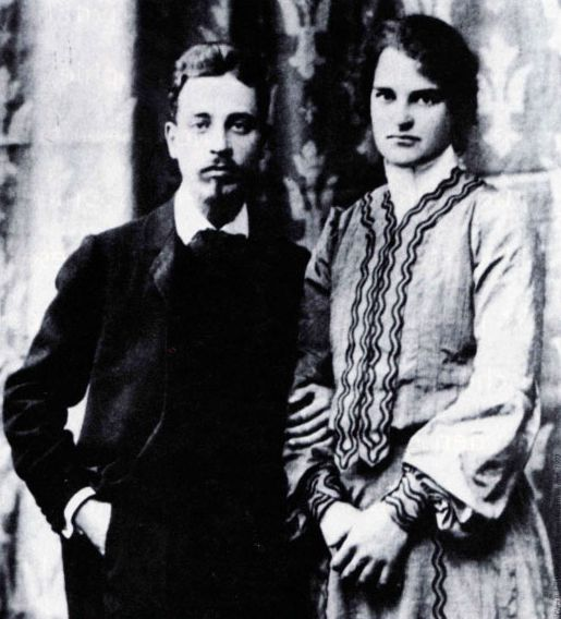 Rainer Maria Rilke and his wife, sculptor Clara Westhoff                                                                                                                                                                                 Mehr