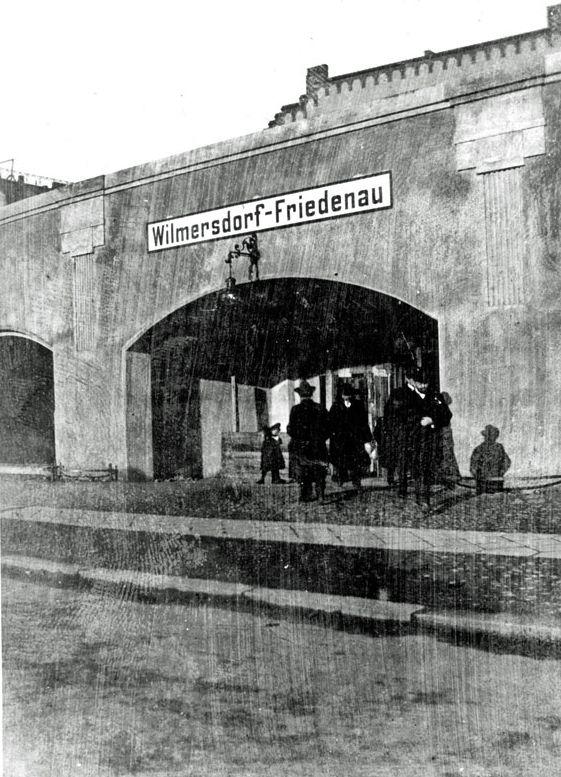1900-Bahnhof Wilmersdorf-Friedenau (heute Bundesplatz)
