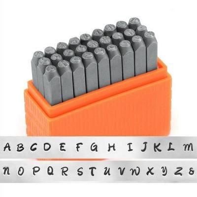 3mm uppercase impressart basic bridgette metal letters stamping set great price and perfect for beginners