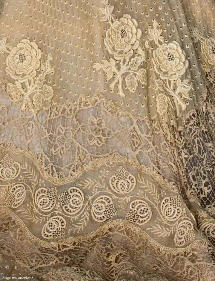 NYC: Doucet Lace Skirt, 1900 - 1905  Augusta Auctions