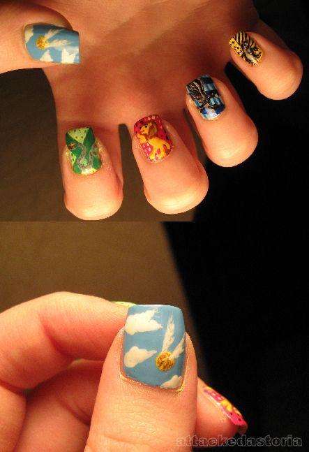 Harry potter nail: Hp Nails, Nails Art, Nailart, Harry Potter Nails, Hogwarts Nails, Beautiful, Nails Polish, Nail Design, Nail Art