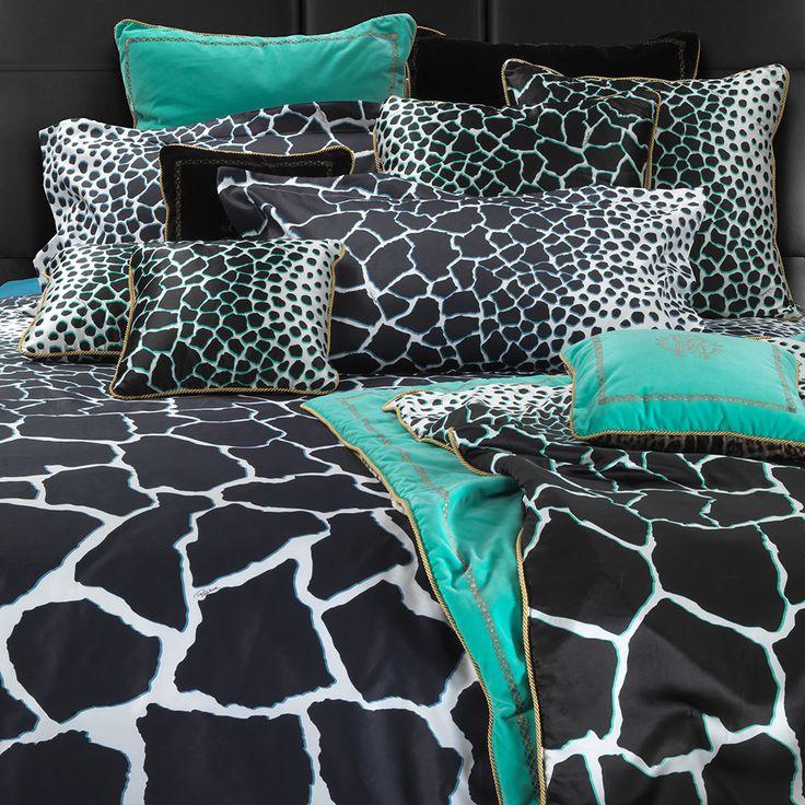 Jerapah Bed Linen - Black