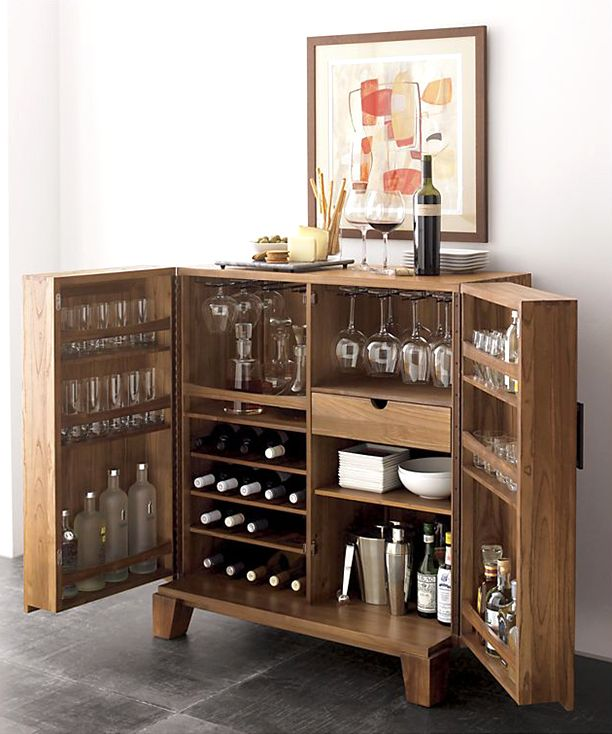 Creative Home Mini Bar Ideas: 25+ Best Ideas About Bar Cabinets On Pinterest