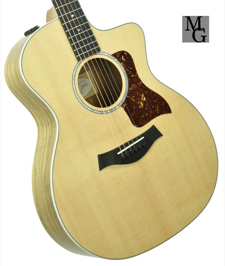 Taylor Guitars 214ce Ltd Black Limba Acoustic Electric Guitar 2203040503 Taylor Guitars Guitar Acoustic Electric Guitar