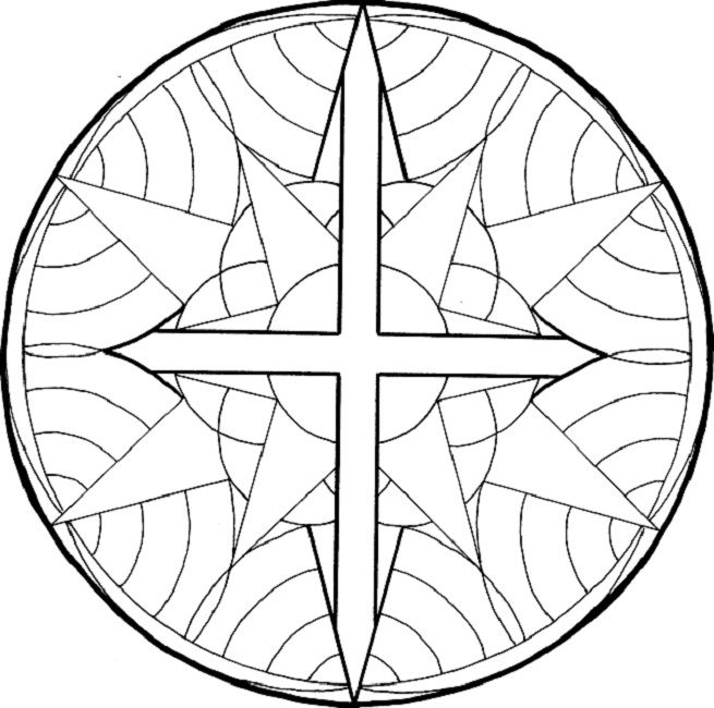 religious mandala coloring pages