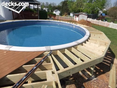 Swimming Pool Deck Cleaning : Pool deck picture gallery decks pinterest