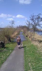 Leuke wandeling, Meijepad dwars door de Nieuwkoopseplassen en de polder.