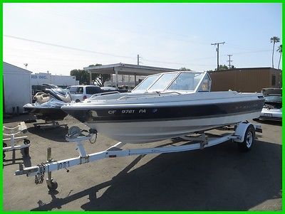 C 1997 Bayliner Capri 1954 Powerboat 18-Feet with Trailer NO RESERVE