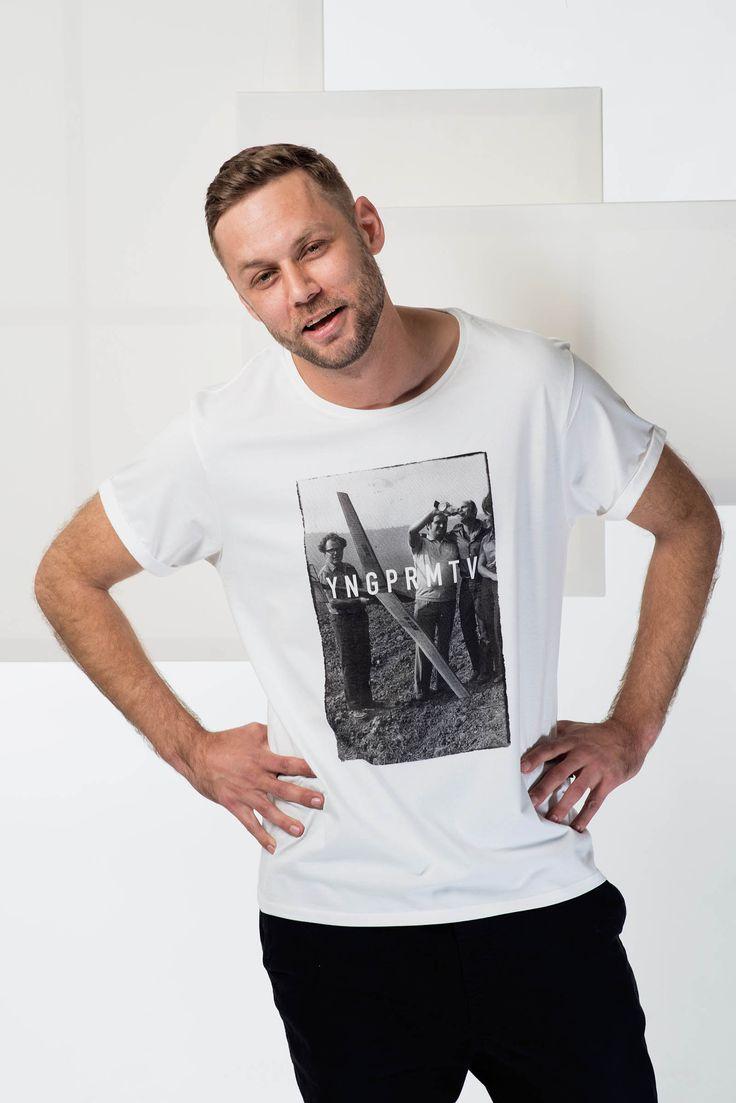 Be social / Pánská trička Youngprimitive. Originální tričko pro kluky.