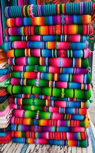 next to Panama their neighbors Guatemala - Fabrics, Panajachel, Solola, Guatemala <-- such wonderful vibrant colours