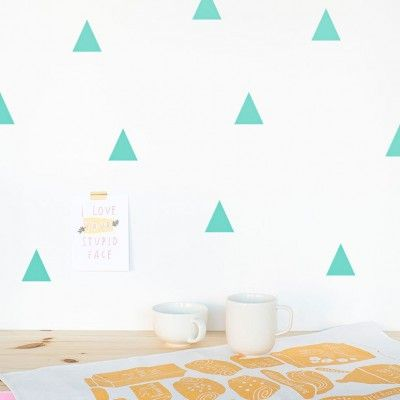 Sticker Triangles mint