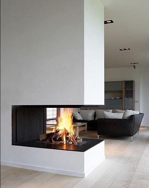 34 best 3 sided fireplaces images on pinterest 3 sided for Open sided fireplace