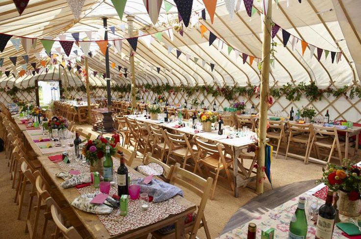 Long Yurt | Cheltenham Yurt Hire