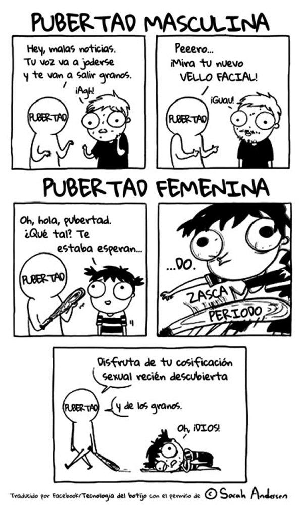 Estupidaaaa pubertaaaaaaaaaad!