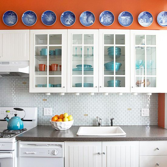 Kitchen Tiles Colour Schemes: 140 Best Images About Decorating With Orange & Turquoise