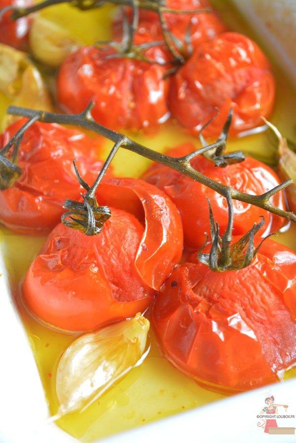 Tomates rôties à l'omnicuiseur via @lolibox