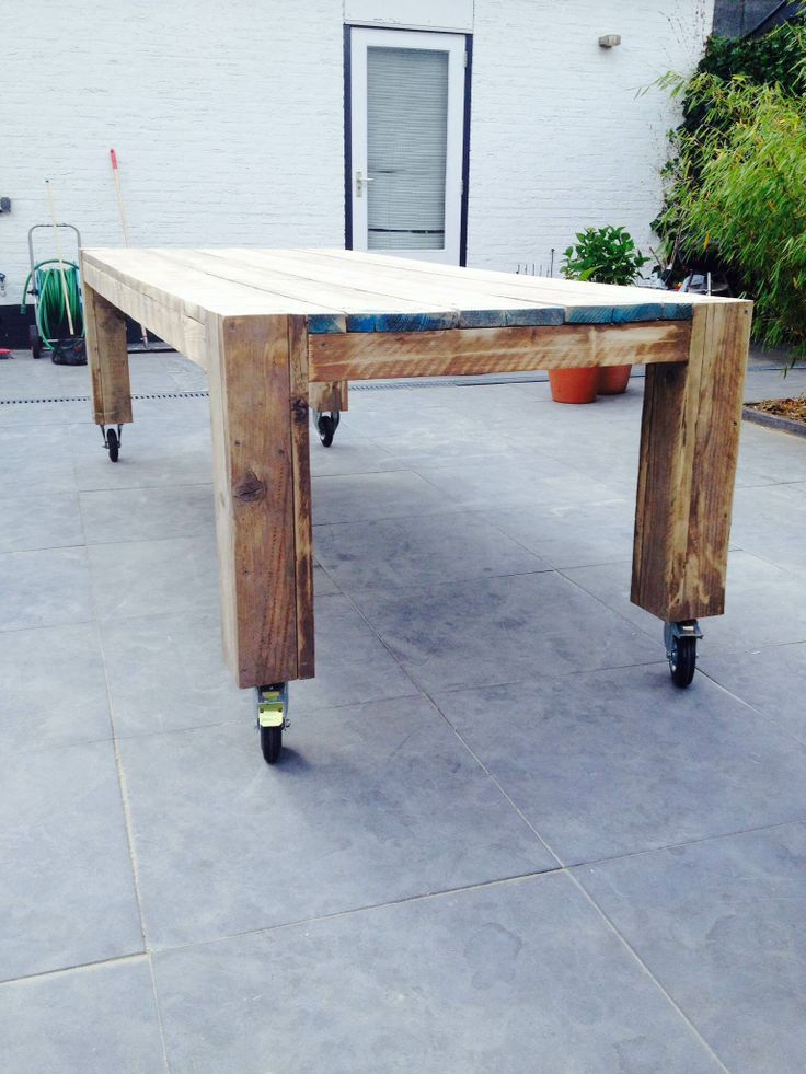 Outdoor Dining Table Wheels Products I Love Pinterest